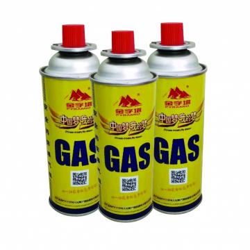 Good quality low pressure empty gas tank butane gas canister