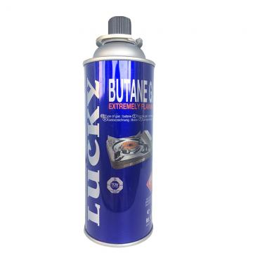 Net weight 220g aerosol butane gas cartridge refill