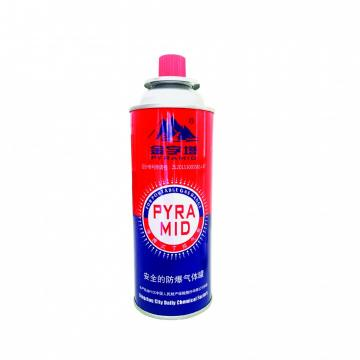 400ml portable camping butane gas canister manufacturing
