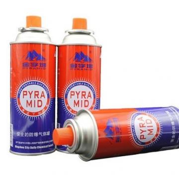 Portable butane gas canister made in china